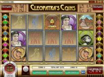 Cleopatra's Coin Slots -Rival -Scatter Symbol, Wild Symbol