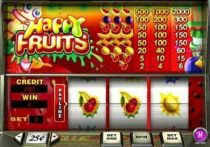 Happy Fruits Slots -PlayTech