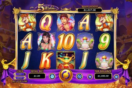 5 Wishes Slots -RTG