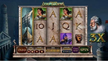 Age of the Gods - God of Storms Slots -PlayTech