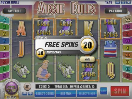 Aussie Rules Slots -Rival