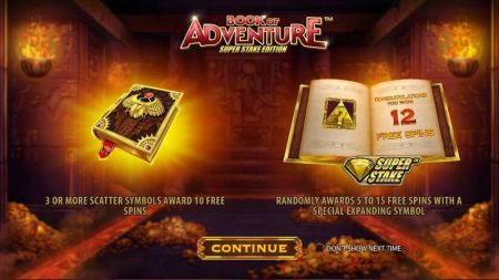 Book of Adventure: Super Stake Edition Slots -StakeLogic