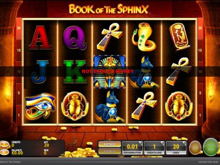 Book of the Sphinx Slots -GTECH