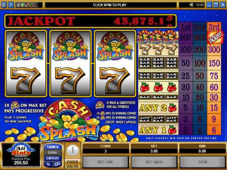 Cash Splash Slots -Microgaming