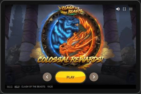 Clash of the Beasts Slots -Red Tiger Gaming