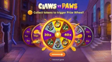 Claws vs Paws Slots -Playson
