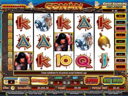 Conan the Barbarian Slots -CryptoLogic