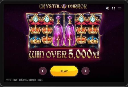 Crystal Mirror Slots -Red Tiger Gaming