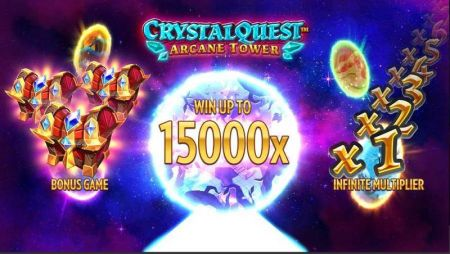 Crystal Quest: ArcaneTower Slots -Thunderkick