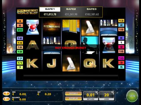Deal or No Deal World Slots -GTECH