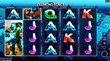 Diamond Force Slots -Microgaming