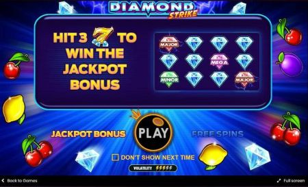 Diamond Strike Slots -Pragmatic Play