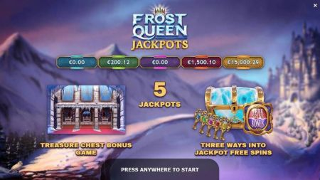 Frost Queen Jackpots Slots -Yggdrasil