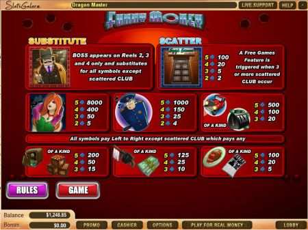 Funny Money Slots -WGS Technology