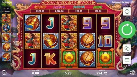 Goddes of the Moon Slots -Booongo