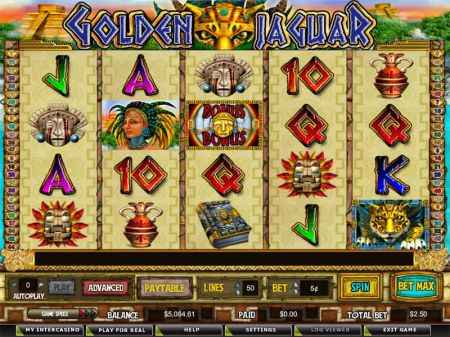Golden Jaguar Slots -CryptoLogic