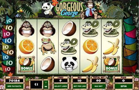 Gorgeous George Slots -Parlay