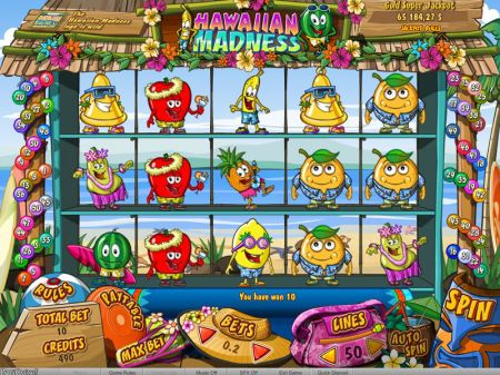 Hawaiian Madness Slots -bwin.party