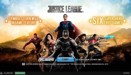 Justice League Slots -PlayTech