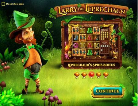 Larry the Leprechaun Slots -Wazdan