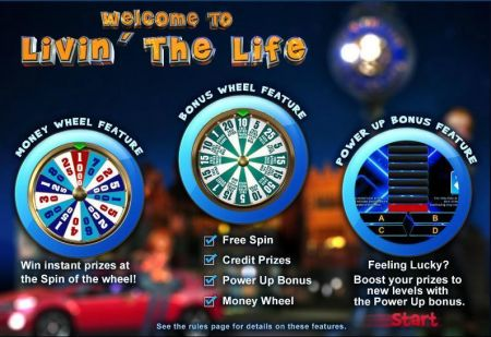Livin The Life Slots -WGS Technology
