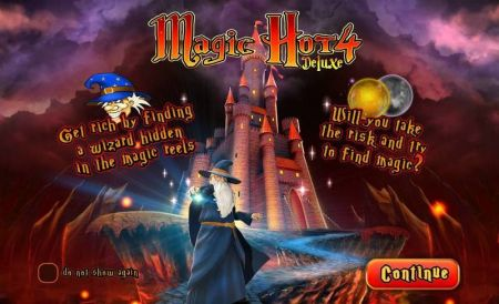 Magic Hot 4 Deluxe Slots -Wazdan