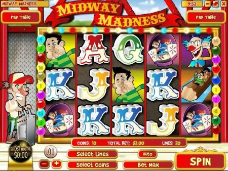 Midway Madness Slots -Rival
