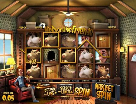 Ned and his Friends Slots -BetSoft