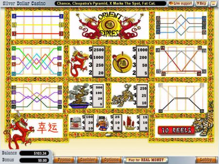Orient Express Slots -WGS Technology