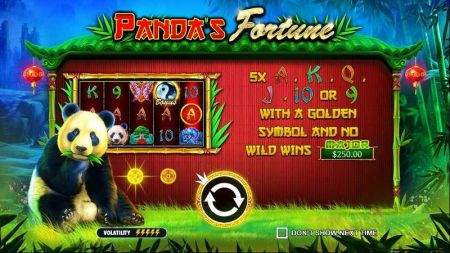 Panda's Fortune Slots -Pragmatic Play
