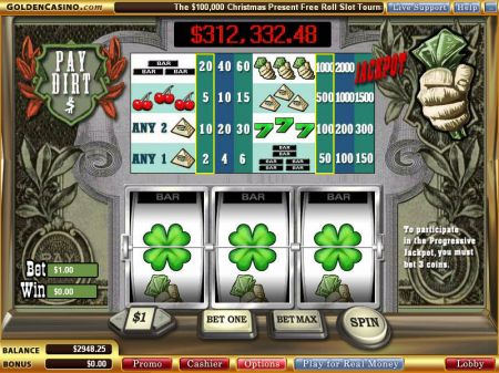 Pay Dirt Slots -WGS Technology