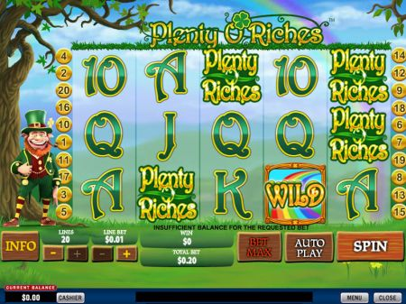 Plenty O'Riches Slots -PlayTech