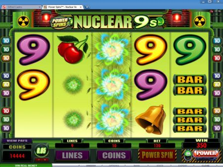 Power Spins - Nuclear 9's Slots -Microgaming