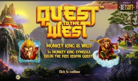 Quest to the West Slots -BetSoft
