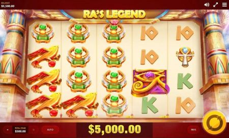 RA's Legend Slots -Red Tiger Gaming