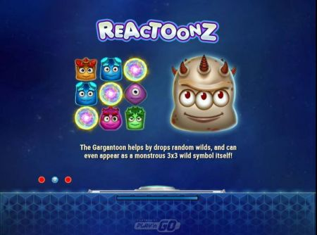 Reactoonz Slots -Play'n GO