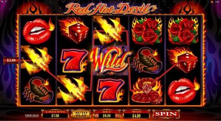 Red Hot Devil Slots -Microgaming