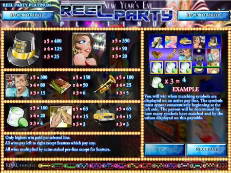 Reel Party Platinum Slots -Rival