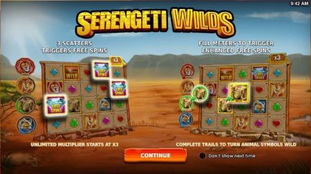 Serengeti Wilds Slots -StakeLogic
