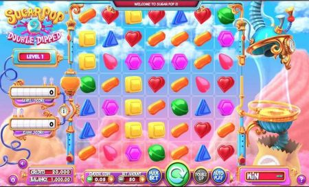 Sugar Pop 2: Double Dipped Slots -BetSoft
