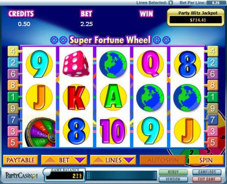 Super Fortune Wheel Slots -bwin.party