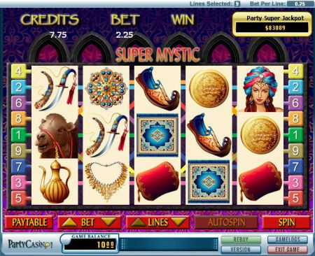 Super Mystic Slots -bwin.party