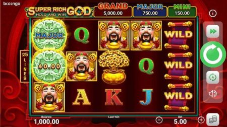 Super Rich God: Hold and Win Slots -Booongo