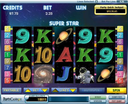Super Star Slots -bwin.party