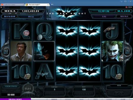 The Dark Knight Slots -Microgaming