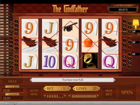 The Godfather Slots -bwin.party