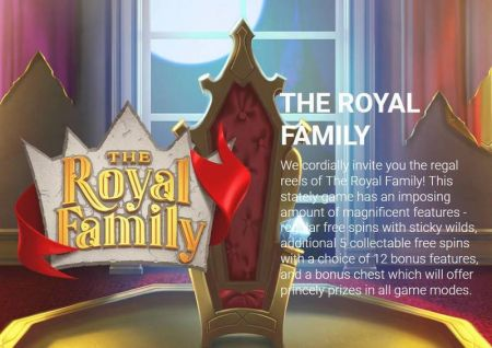 The Royal Family Slots -Yggdrasil