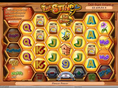 The Sting Slots -bwin.party