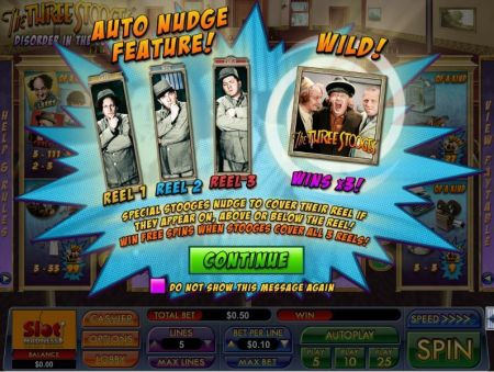 The Three Stooges Disorder in the Court Slots -NuWorks