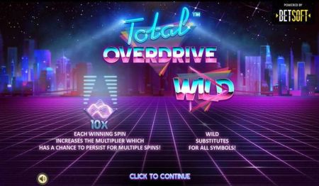 Total Overdrive Slots -BetSoft